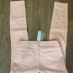 life in progress Jeans - NWT Blush Pink Peach Skinny Jeans Women's Sz 27